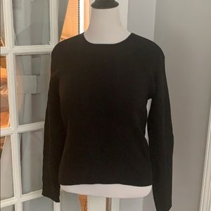 New Liz Claiborne Black Sweater